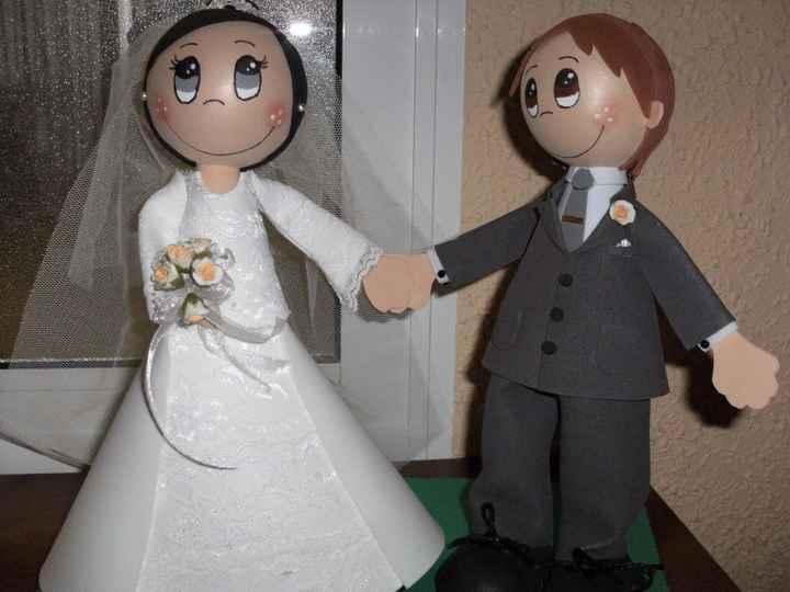 Muñecos personalizados baratitos para la tarta - 1