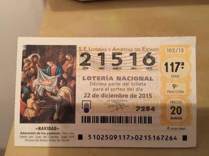 Loteria de navidad 14/5/16 - 1