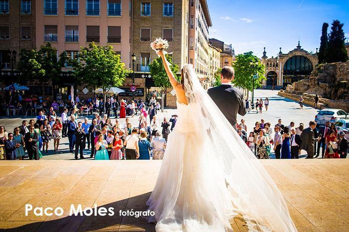Novios que nos casamos el 21 de Mayo de 2016 en Zaragoza - 4