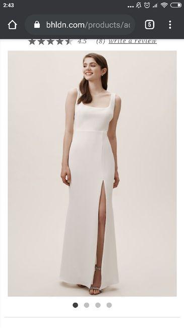 Segundo vestido de novia 4