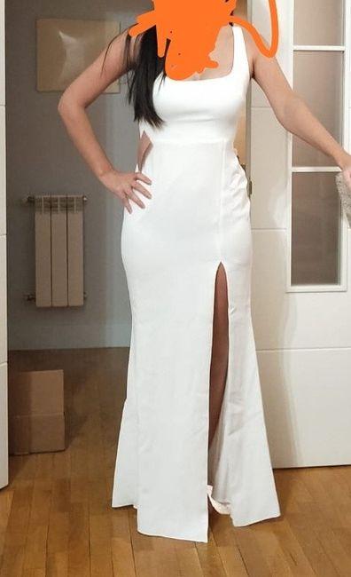 Segundo vestido de novia 5