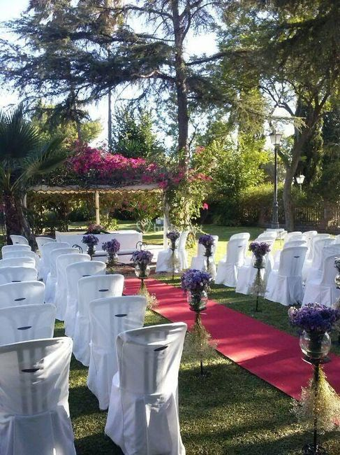 Necesito ideas para decorar mi ceremonia civil! 1