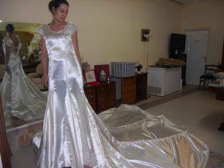 Me estoy haciendo mi vestido de novia - 1