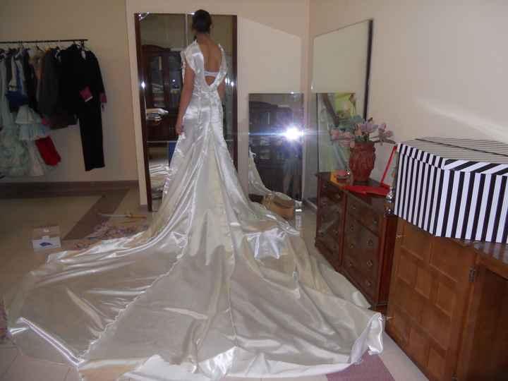 Me estoy haciendo mi vestido de novia - 2