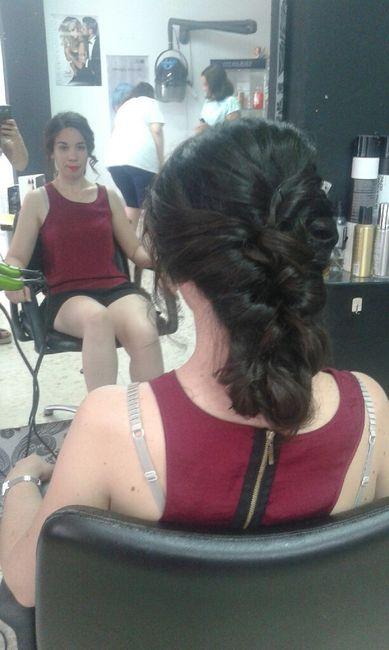 Segunda prueba de peinado - 4