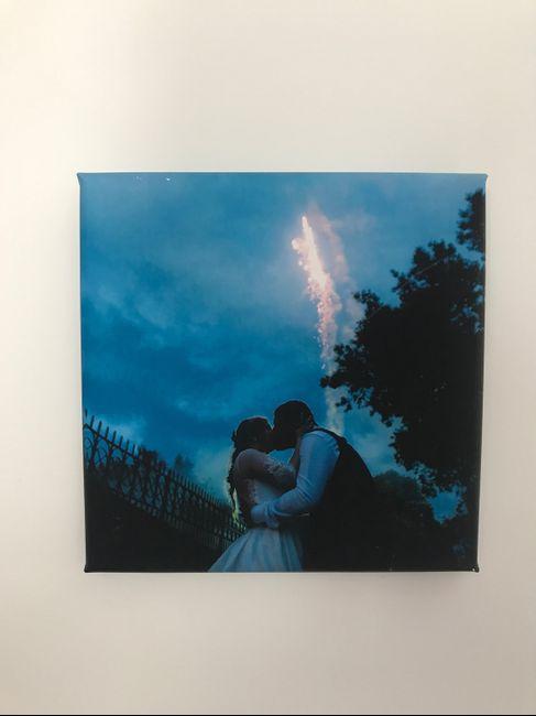 Poner foto de la boda en casa. - 1