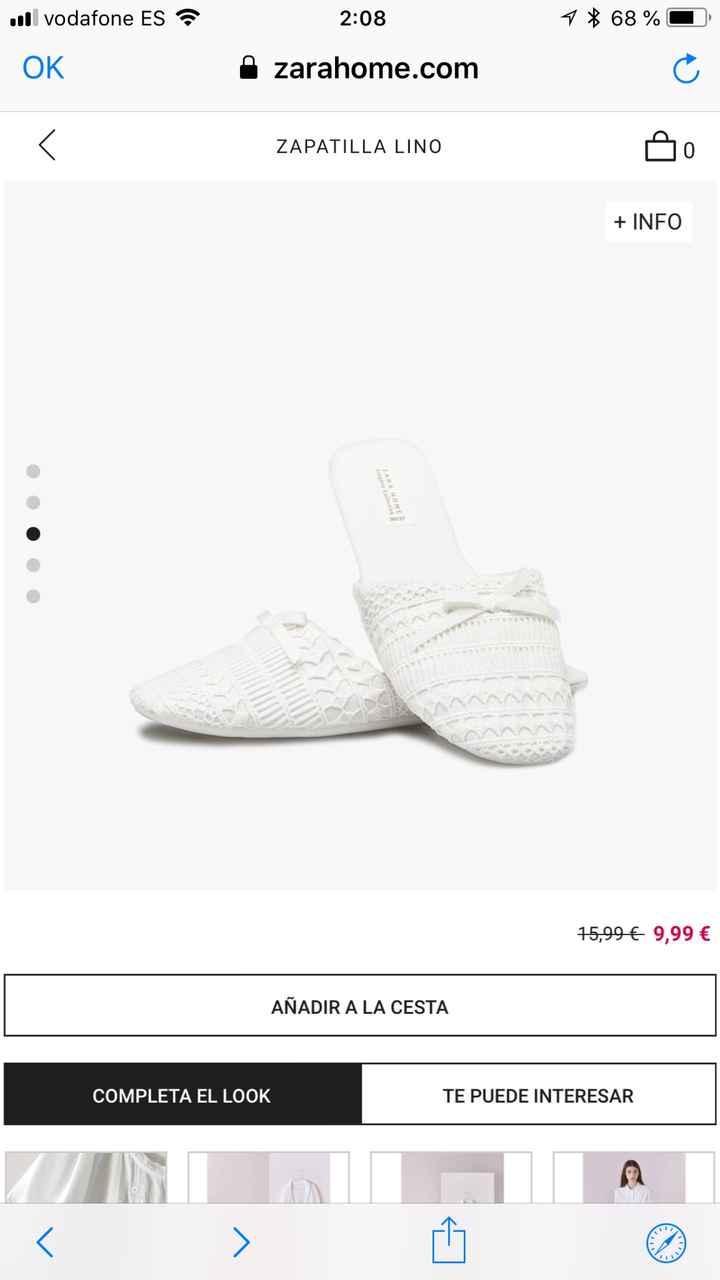 Zapatillas de andar por casa de novia - 1