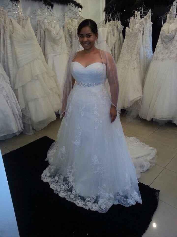 Primera prueba del vestido