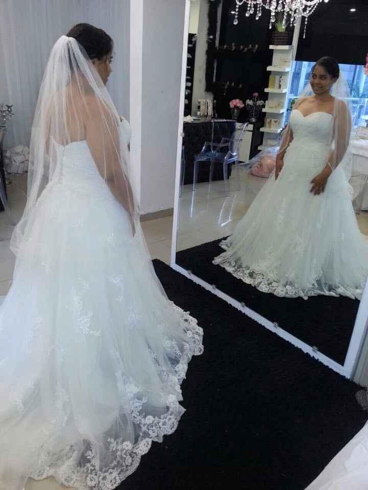 Primera prueba del vestido #2