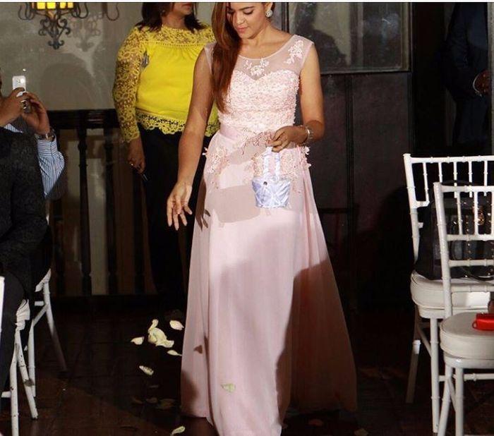 Hermoso vestido para Dama de Honor