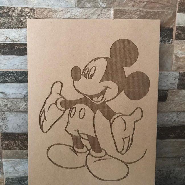 Centros de mesa Disney 4