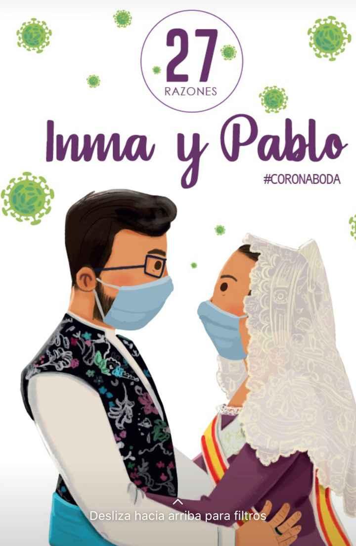 Novios que nos casamos el 27 de Junio de 2020 en Valencia - 1