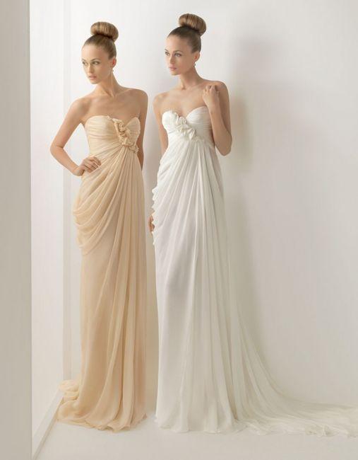 vestido estilo griego - barcelona - foro bodas