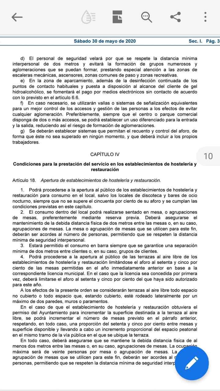 Bodas fase 3 Boletín Oficial del Estado 7