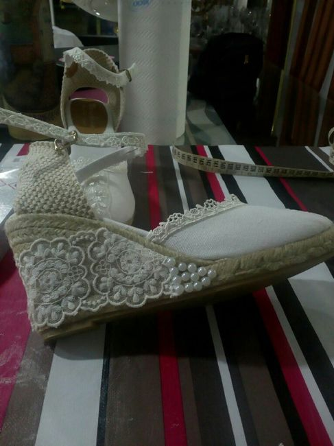 Zapatos esparto - 1