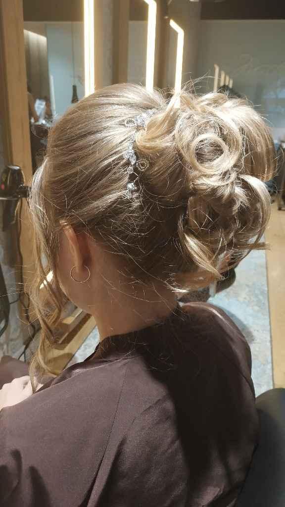 Prueba peinado y maquillaje - 2