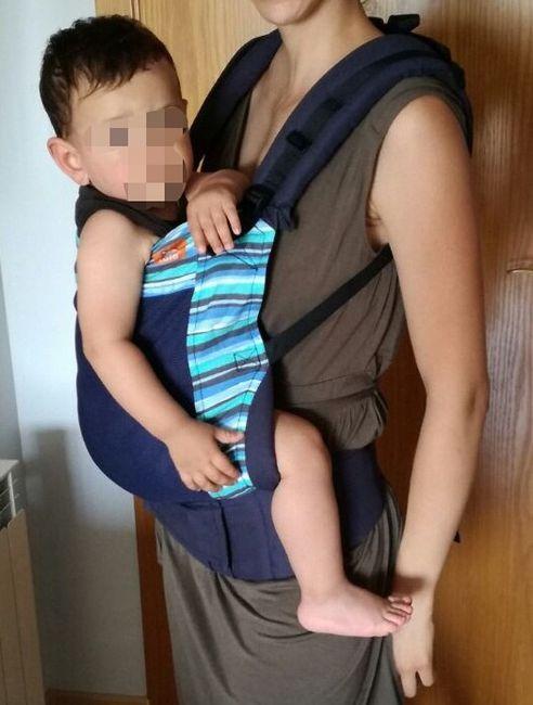 Mamás Porteadoras: Ayuda con la elección de mochila/fular 1