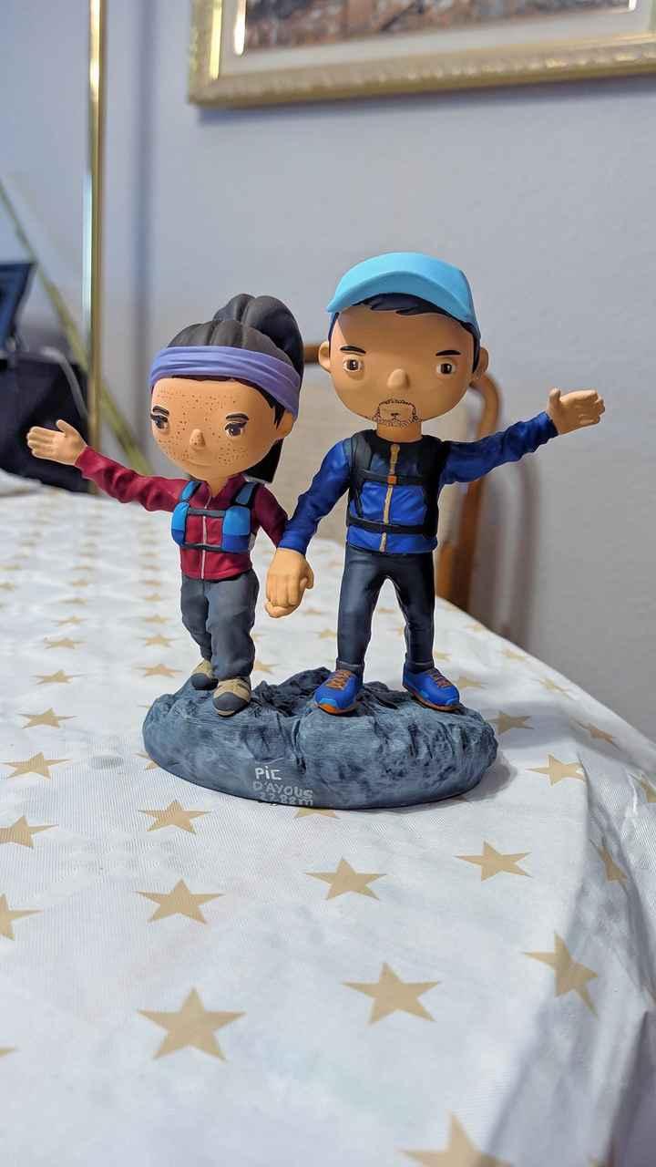 Muñecos personalizados tarta - 2