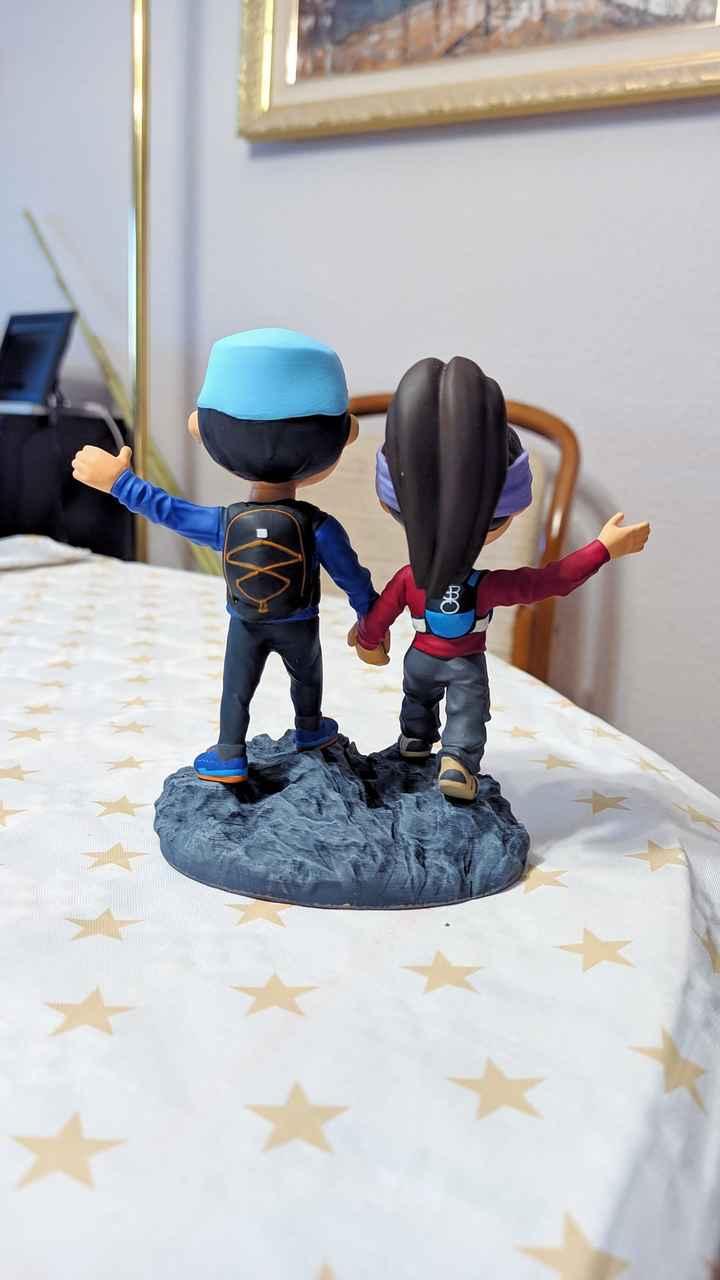 Muñecos personalizados tarta - 3