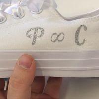 Zapatillas muy 'toscas' para novia? - 1