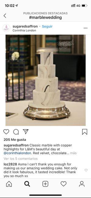 Como será vuestra tarta de boda? 1