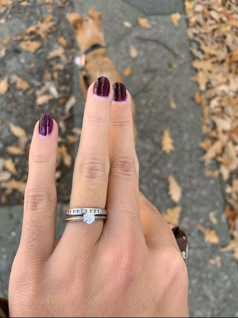 Trio de anillos: es demasiado para llevarlo todo junto? 2