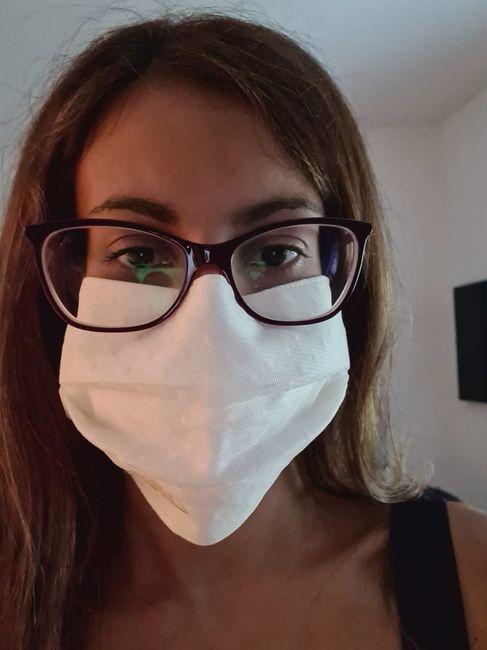 Novia con mascarilla: consejos y experiencia 2