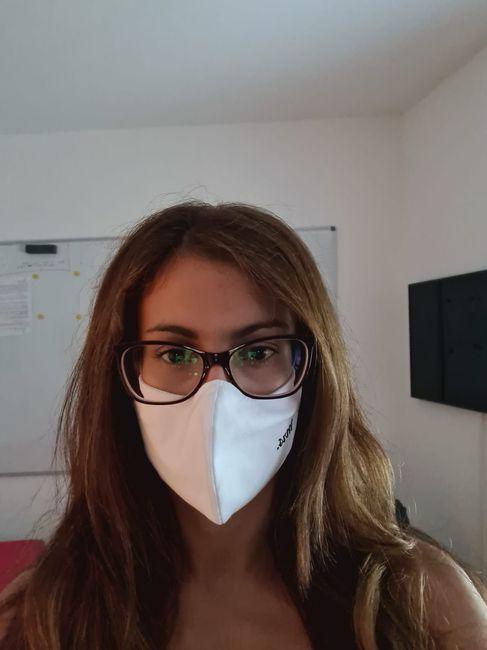 Novia con mascarilla: consejos y experiencia 3