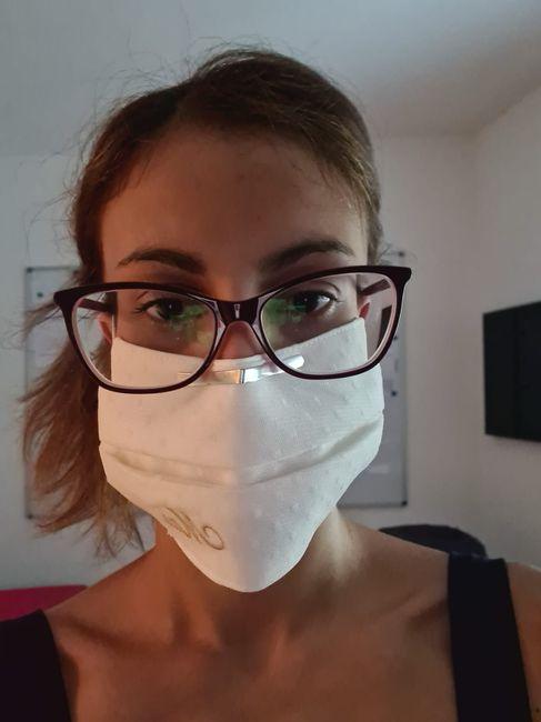 Novia con mascarilla: consejos y experiencia 7