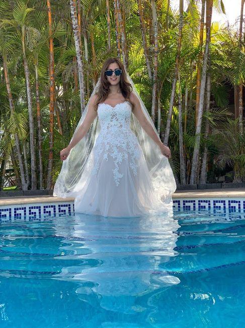 ¿Qué vais a hacer con el vestido de novia? 1