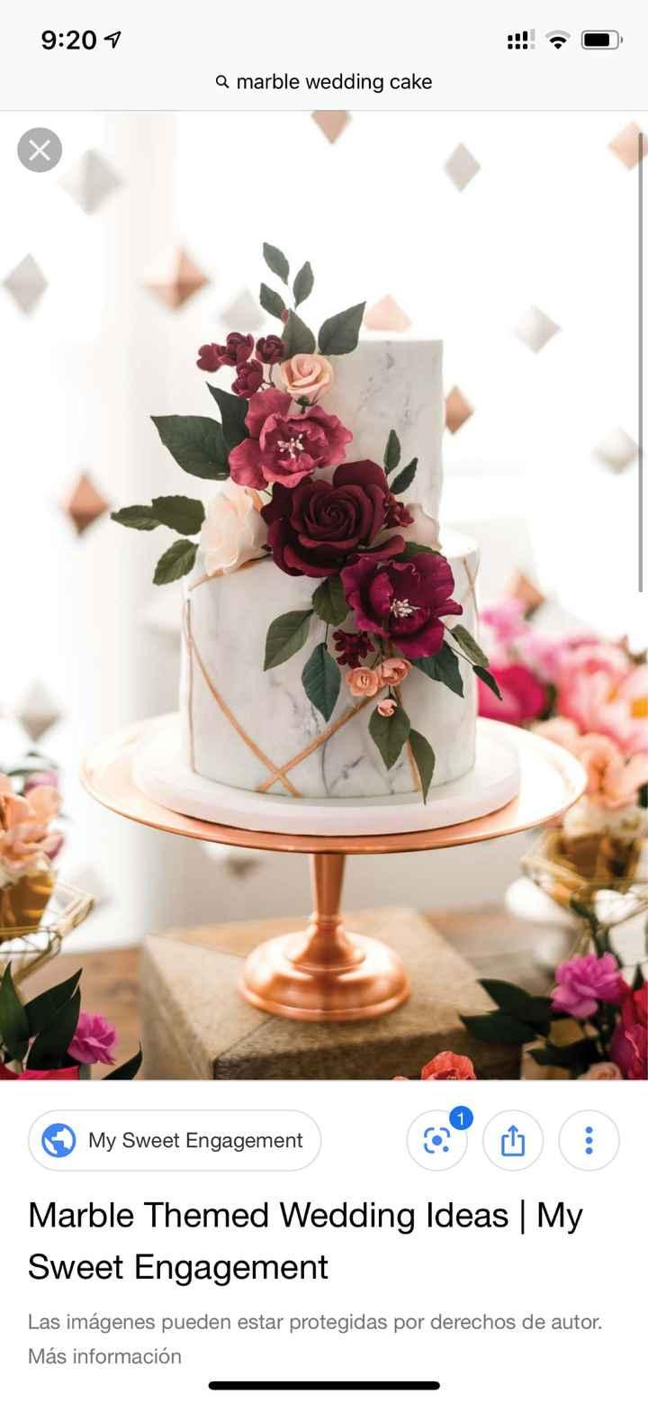 Decoración boda poco común: mármol - 1