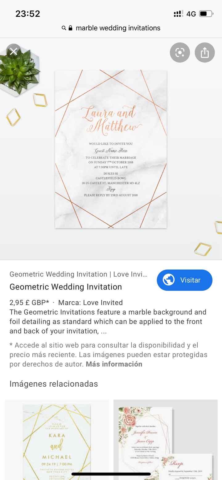 Decoración boda poco común: mármol - 2