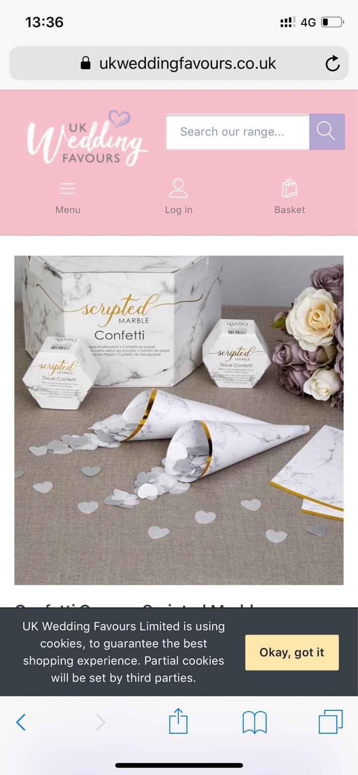 Decoración boda poco común: mármol - 6