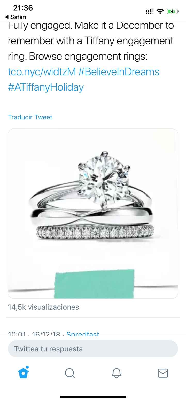 Trio de anillos: es demasiado para llevarlo todo junto? - 1