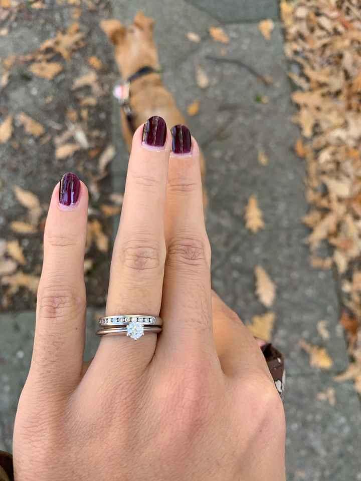 Trio de anillos: es demasiado para llevarlo todo junto? - 2