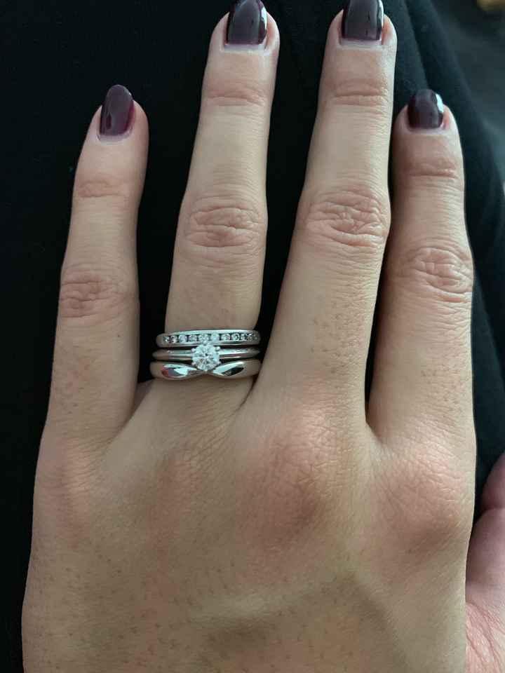 Trio de anillos: es demasiado para llevarlo todo junto? - 3