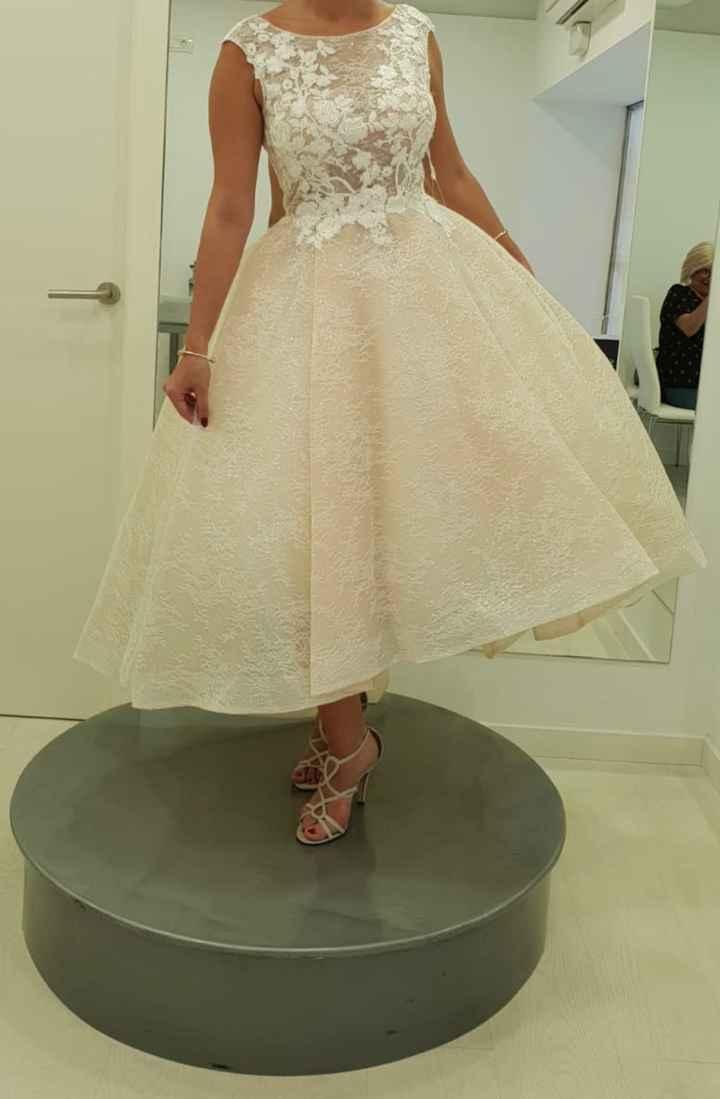 Vestido de novia para firmar en el juzgado - 2