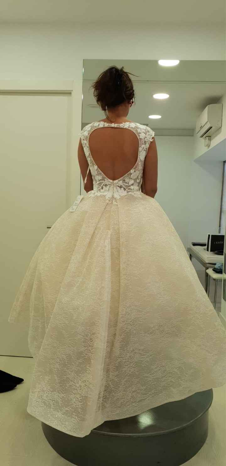 Vestido de novia para firmar en el juzgado - 3