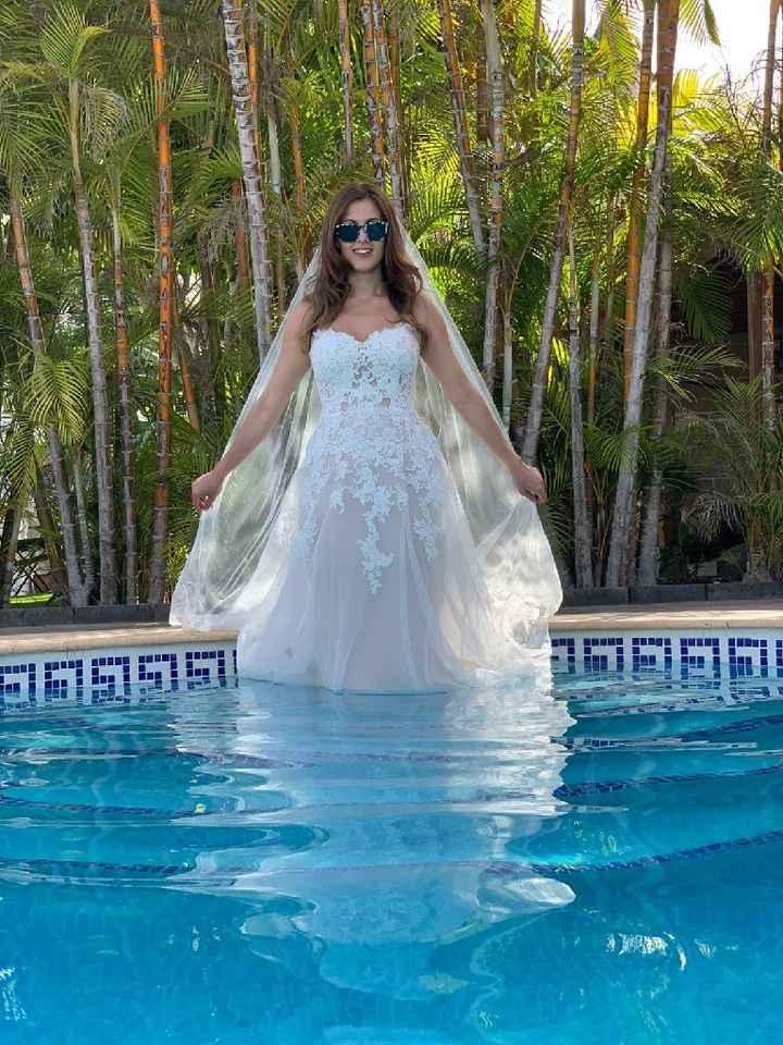 ¿Qué vais a hacer con el vestido de novia? - 1