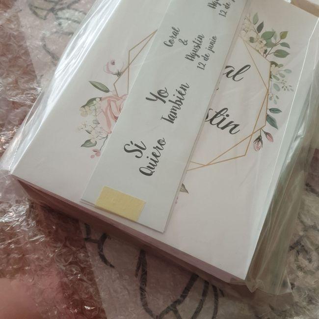 ¿Te gusta esta INVITACIÓN para tu boda? 3