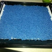 arroz azul
