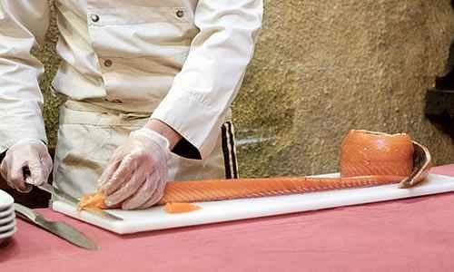 Cortador salmón