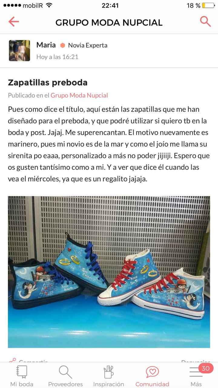 Zapatos frikis. - 1