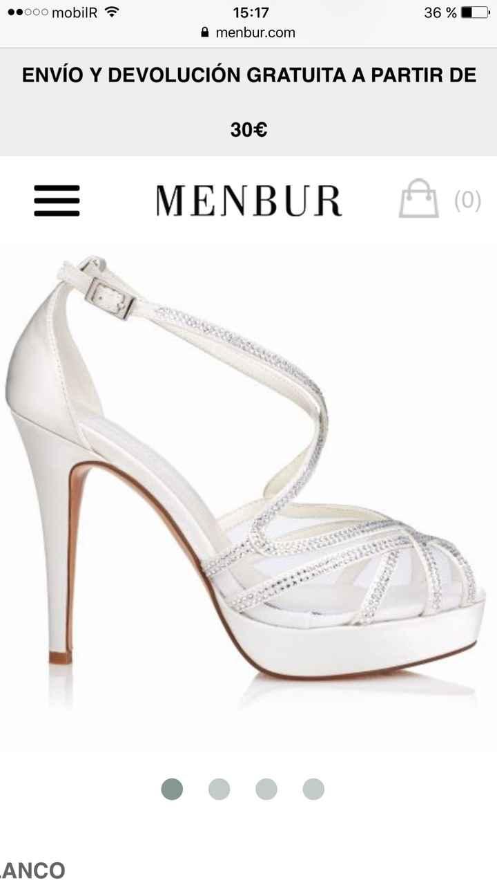 Tallas zapatos menbur - 1