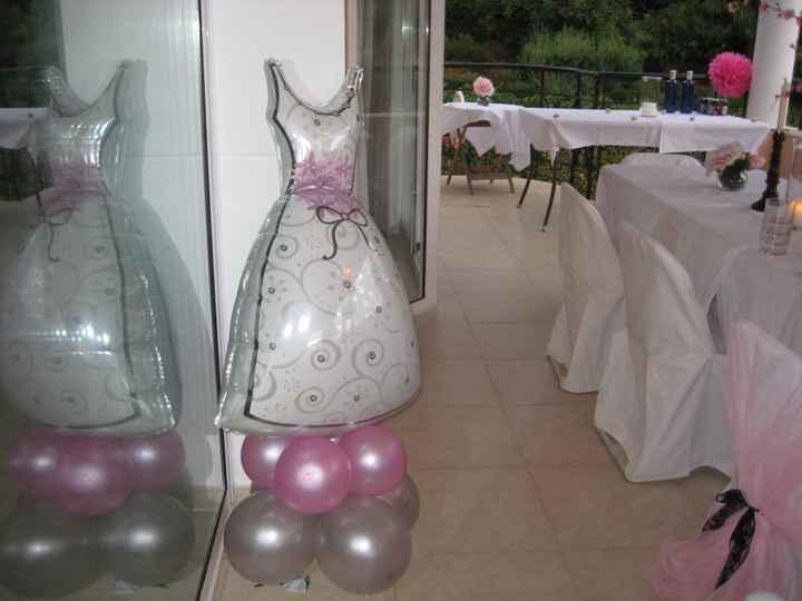 Globo vestido de novia