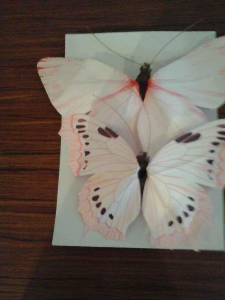Mariposas decoración de papel