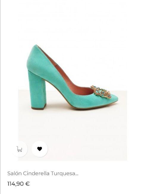 Zapatos de novia de colores 4