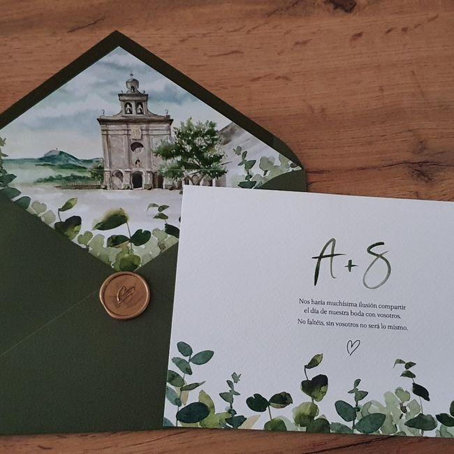 invitaciones de Boda✉💘 2