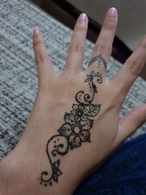 Tatuaje henna - 1