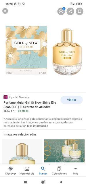 Perfume boda 3